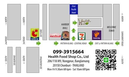 Healthut Map