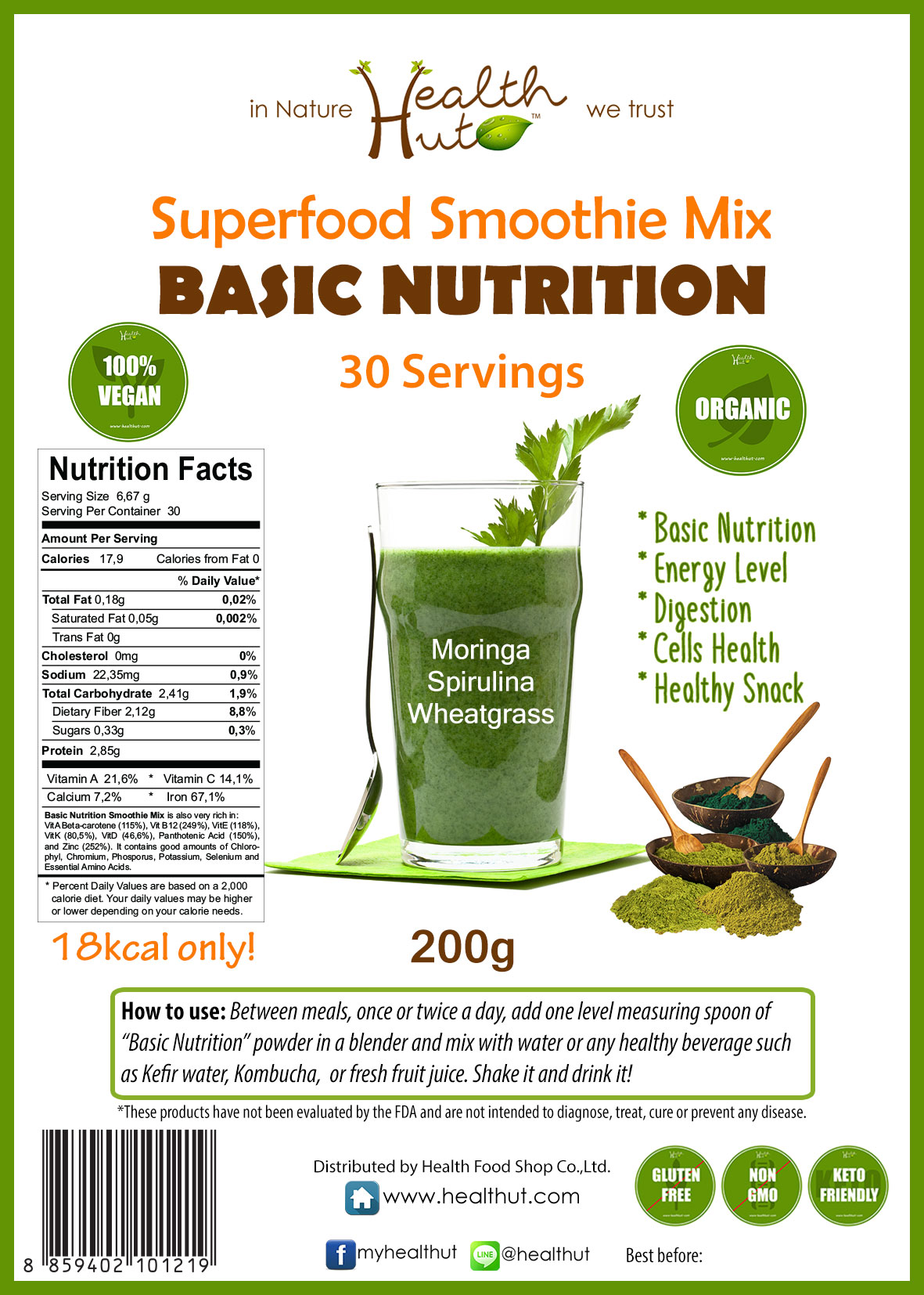 Superfood Mix - Basic Nutrition