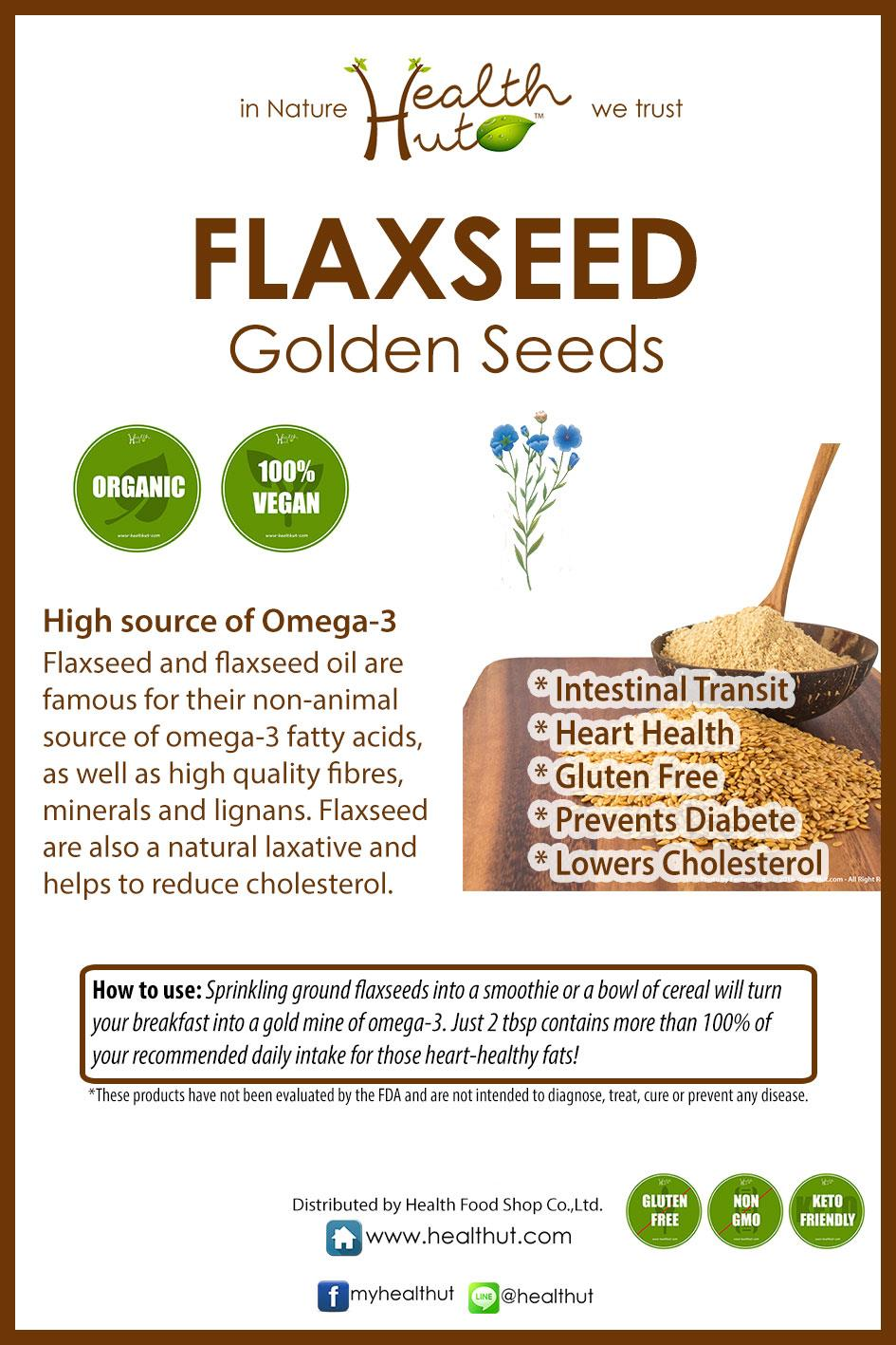 Flax Seed Golden