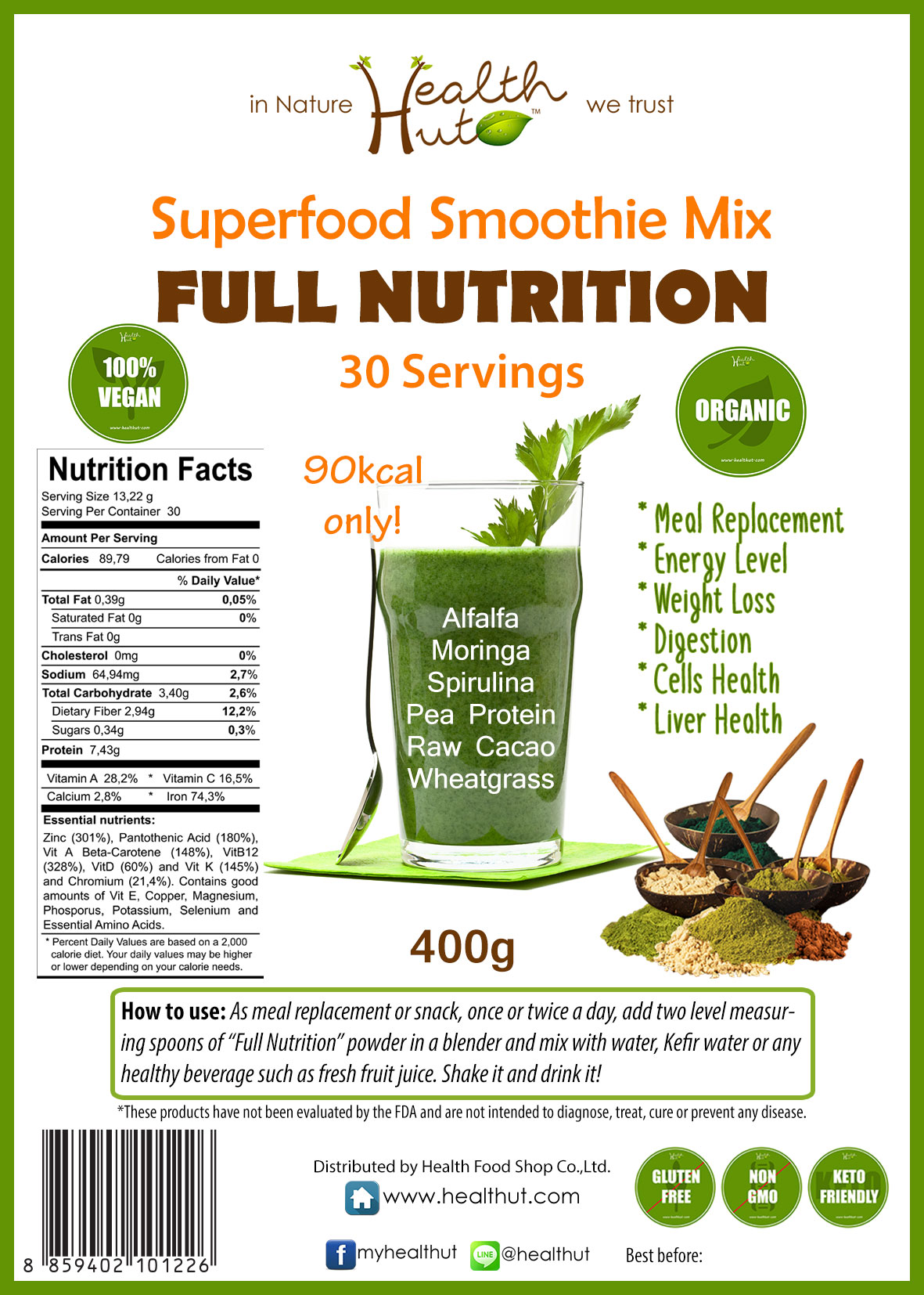 Superfood Mix - Full Nutrition