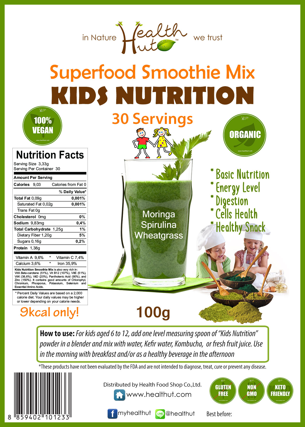 Superfood Mix - Kids Nutrition