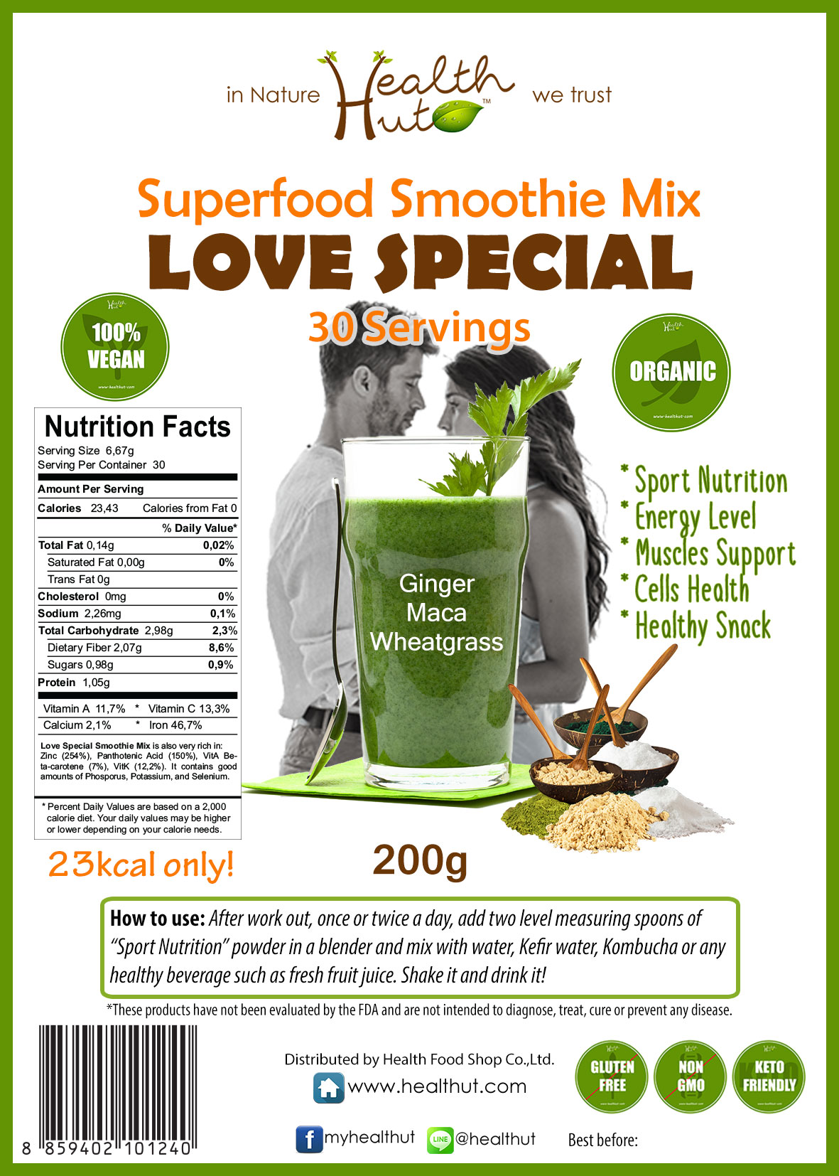 Superfood Mix - Love