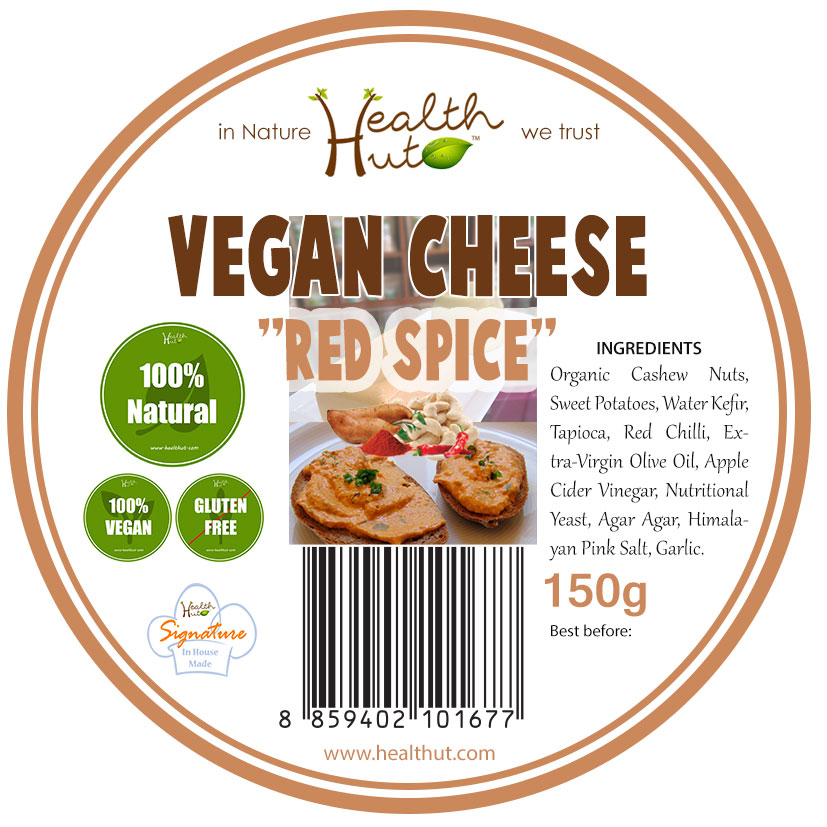 Vegan Cheese Red Spice