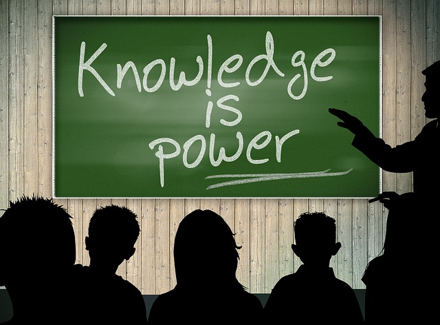 Education - Knowledge is power