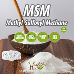 MSM Methyl Sulfonyl Methane 150g